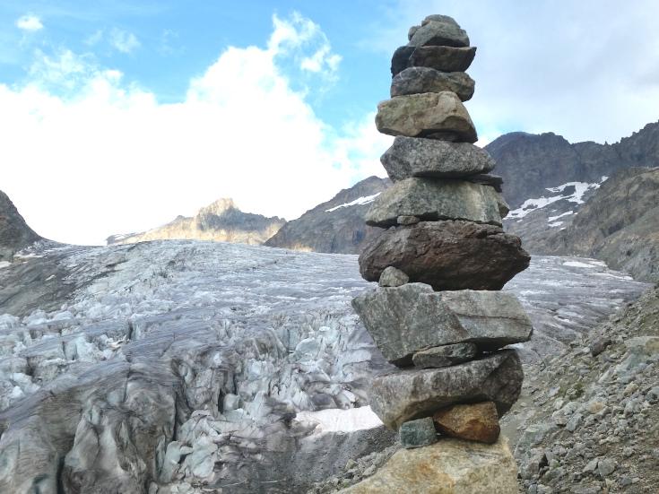 Alpine cairn